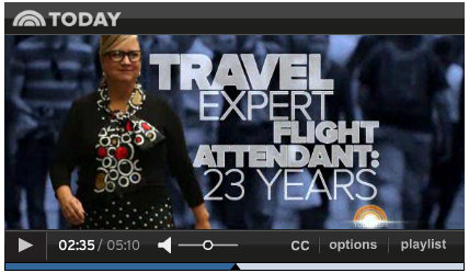 Hollis is the Today Show Travel Expert!