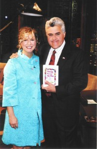 Hollis Gillespie with Jay Leno