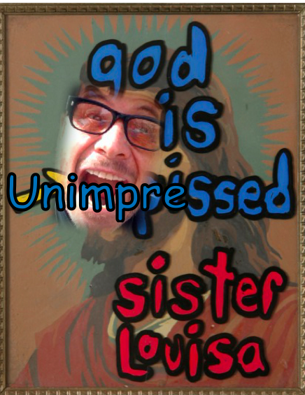 God is Unimpressed